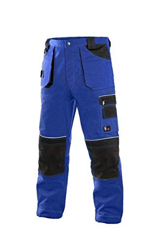 CXS Teodor Herren Arbeitshose mit Kniepolstertaschen - Sehr Stabile Strapazierfähige Gartenhose Bundhose (Mädchen Luigi Kostüm)
