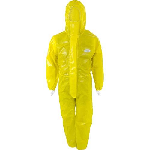 Protezione da sostanze chimiche Dönges tipo 3/4/5/6, XL, giallo, 256013