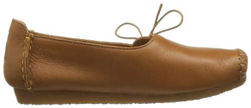 Clarks Originals Faraway Charm, Chaussures basses femme Marron (Tan Leather)