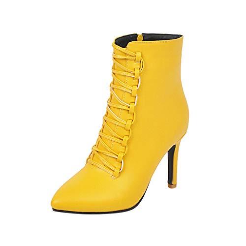 Damen Schuhe Oberschenkel-Boot Stiefel - Reitstiefel Kavalier - Biker - Flexible - Nieten-Besetzt - Schlangenhaut - Schleife Blockabsatz high Heel