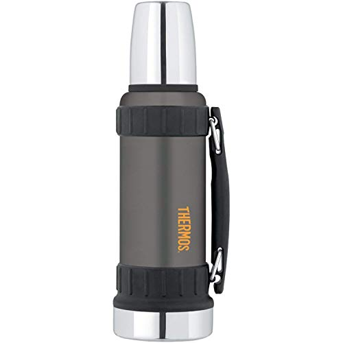 Thermos Work Series Getränkeflasche, 140 ml, Gunmetal Grey, 1-Unit -