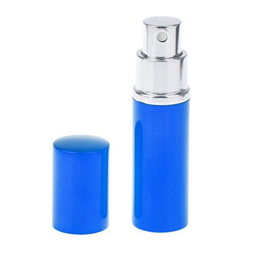 10ml Mini Vaporisateur Atomiseur Vide Rechargeable pour Parfum Après-rasage - Bleu
