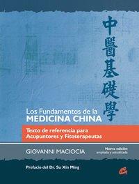 FUNDAMENTOS DE LA MEDICINA CHINA, LOS (Salud natural) por GIOVANNI MACIOCIA