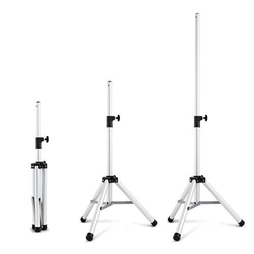 TROTEC 3-Bein-Stativ Teleskopstativ - Höhenverstellung 110 - 175 cm Teleskopauszug 3 Scheinwerfer-scheinwerfer