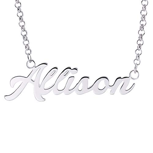 Considerate Womens Necklace Costume Jewelry Sterling Silver 925 Colar Name Birth Stone Chain Pendant Baby Feet Necklaces For New Mom Bijoux Jewellery & Watches