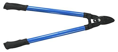 Angelo B 18.19.00 Coupe-branche Lame traversante manche tube, Bleu