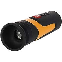 KKmoon multifuncional HD cilindro infrarrojo de imágenes térmicas portátiles de visión nocturna con cable USB y adaptador de conmutación