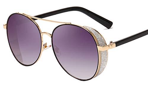 Saino Outdoor-Brille Mädchen Top Etui&Brillentuch Acetat-Material Ultra Leicht Komfortabel Schutz Prämie Oversized Freizeit Brille