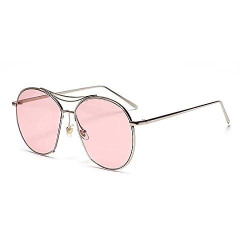 XXFFH Sunglasses Polarized light Shade glasses Lunettes de soleil finition irrégulière encadrent matériaux: métal , b