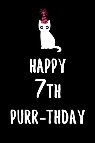 Happy 7th Purrthday: 6x9