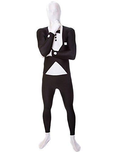 Costume Morphsuits™ completo nero adulto XL