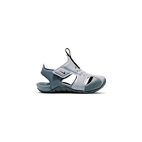 sports shoes 9097c af7bd Nike Unisex Baby Sunray Protect 2 (td) Durchgängies Plateau Sandalen  Mehrfarbig (Wolf Black