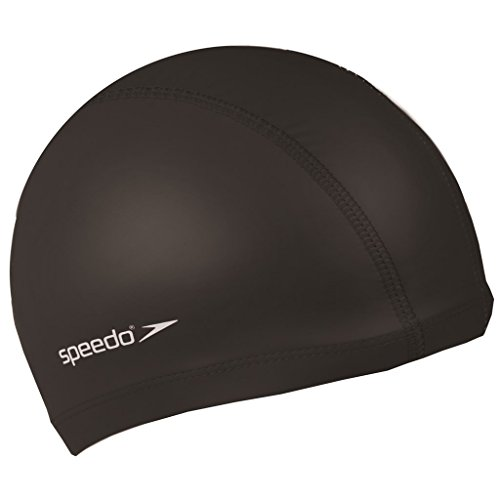 Speedo Water Sports Swimming Cap - Black, One Size