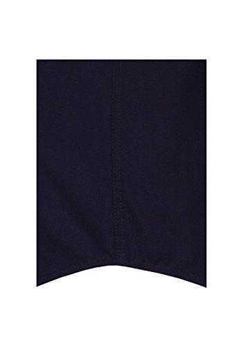 Bügelfreies Herren Langarm Hemd in Creme, Hellblau und Schwarz, Marke Seidensticker Splendesto (01.001000) Schwarz(84)