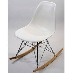 Retro Rocker Side Chair by Fine Mod Imports
