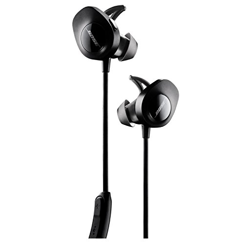 Bose ® SoundSport - Auriculares inalámbricos (Bluetooth, NFC, micrófono), color negro