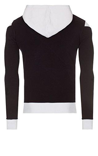 WOOSAH Herren Sweatshirt Shaco navy / red / white (4063)