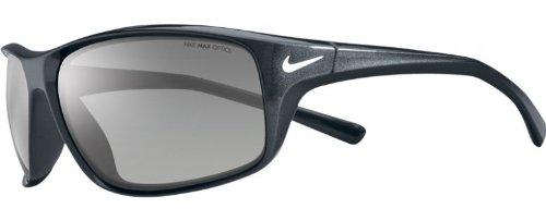 Nike Herren Adrenaline EV0605 003 64 Sonnenbrille, Grau (Stealth/Grey Lens)