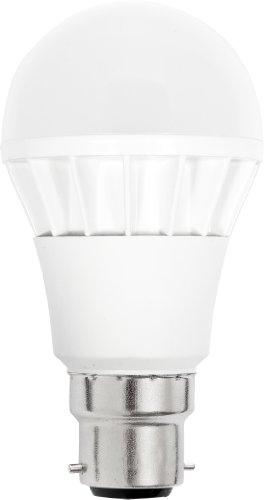 GLS LED: 8W: BC (B22) Opal warmes Licht TCP Leuchtmittel Lampe, 3Jahre Garantie, 470Lumen, Hohe Energiesparend