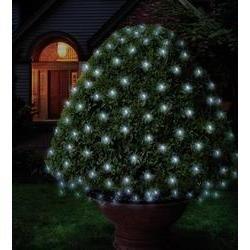 Preisvergleich Produktbild Polarlite Lichternetz Außen 230 V/50 Hz 96 LED Kalt-Weiß (L x B) 300 cm x 300 cm