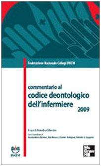 Commentario al codice deontologico dell'infermiere 2009