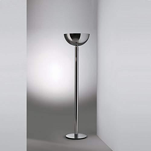 Nemo Lighting AM2Z Lampe de sol dimmable chromée