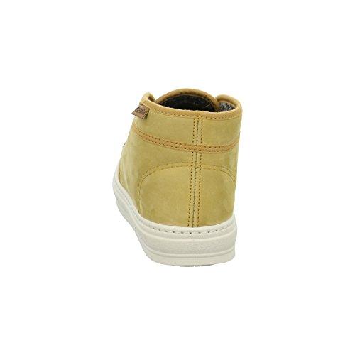 Natural World Damen Winter-Boots Gelb