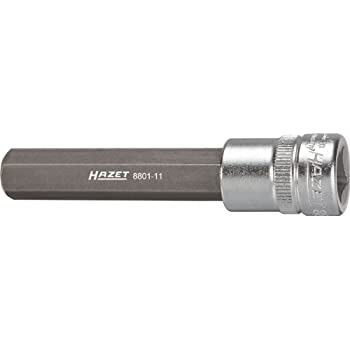Hazet 8506-PH2 1//4-Inch PH2 Screwdriver Socket Silver
