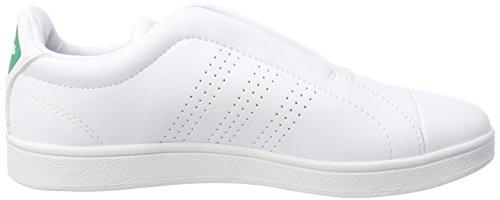 adidas Damen Advantage Adapt Fitnessschuhe Elfenbein (Ftwr White/ftwr White/bold Green Ftwr White/ftwr White/bold Green)