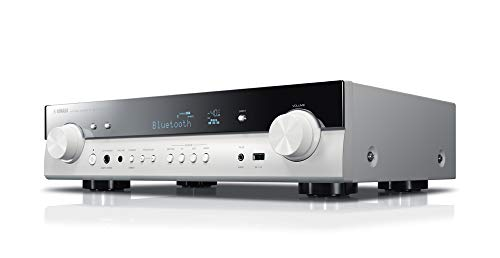 Yamaha AV-Receiver RX-S602 MC weiß - Slimline Netzwerk-Receiver mit kraftvollem 5.1 Surround-Sound - für packendes Home Entertainment - Music Cast und Alexa kompatibel (Aventage Yamaha)