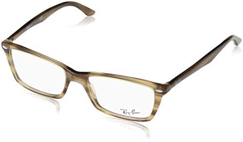 Ray-Ban Damen Brillengestell RX5241, Schwarz (Negro), 52