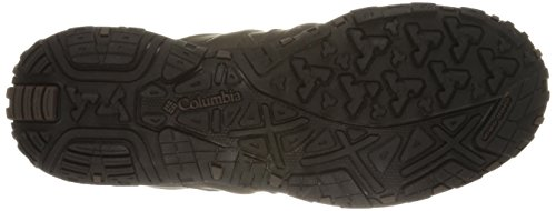 Columbia Woodburn Ii Omni-Heat, Chaussures de Randonnée Basses Homme Noir (Cordovan/Garnet Red 231)