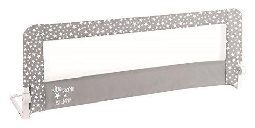 Jané - Barrera de cama abatible y plegable, 150 cm, diseño Stars