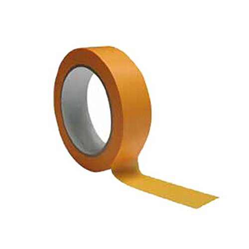 Preisvergleich Produktbild Washi Tape Goldband 120°C extradünnes 90µm Abdeckband Klebeband 19-50mm x 50m (50mm)