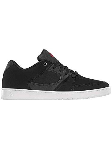 Skate shoe Men es Accel Slim skate scarpe Black/White/Red