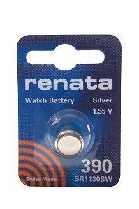 Batterie Silberoxyd Renata 390, 1er