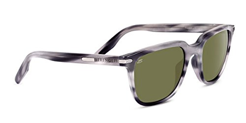 Serengeti Mattia Sonnenbrille, Uni, 8475, Mattia Feather Gray Polarized 555nm