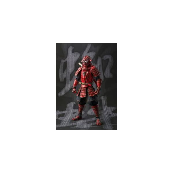 BANDAI MEISHO Manga Realization Samurai Spider Man Action Figure 1