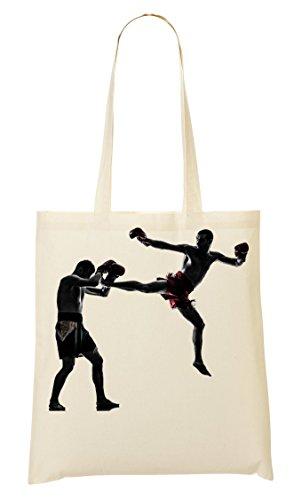 Bangkok Boxing Tragetasche Einkaufstasche (Bag Usa Boxing)