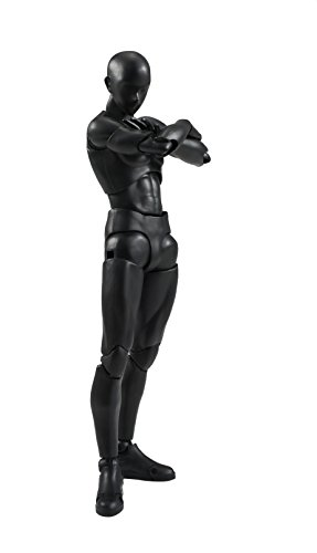 Bandai Tamashii Nations S.H. Figuarts Man (Solid Black Color Ver.) Action Figure