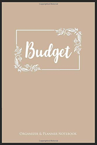 BUDGET ORGANIZER & PLANNER NOTEBOOK: A5 52 weeks calendar | financal journal | planner | organzier | money notebook | budget tracker | family planner (Home Budget-organizer)