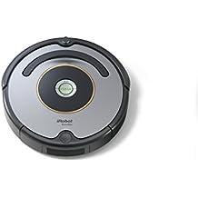 iRobot Roomba 615 Saugroboter (hohe Reinigungsleistung, für alle Böden, geeignet bei Tierhaaren) grau/schwarz