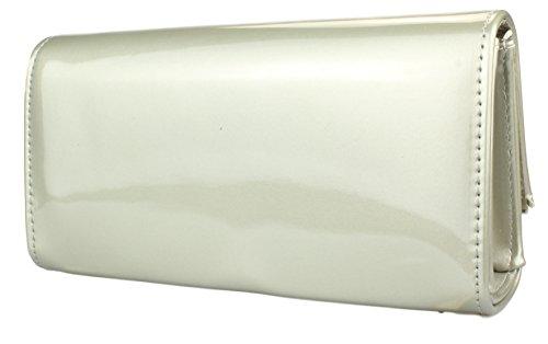 Borsa della donna / borsa di sera / Borsa elegante Grigio - 77905