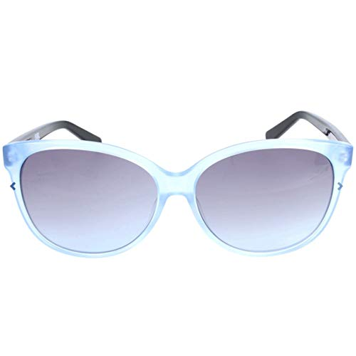 Karl Lagerfeld Damen KS6008 Sonnenbrille, Blau, 58