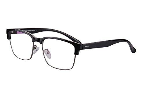 Shinu progressiva messa a fuoco multipla occhiali da lettura multifocus occhiali multifocali computer occhiali da lettura-sh018c1x(up+1.00, down+3.00)