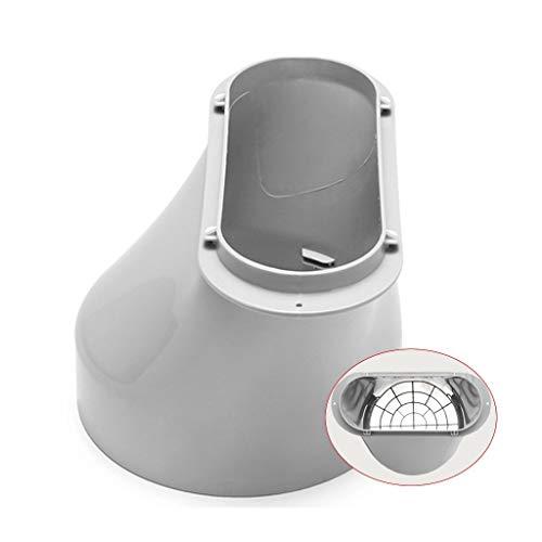Unbekannt Mobile Klimaanlage Universalzubehör Entenmaul (Color : White) - White Mobile Maus