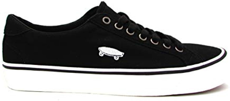 Vans scarpe da ginnastica Court Icon Dancer Nero Bianco JF2PU7 (42.5 - Nero)   Design ricco    Scolaro/Signora Scarpa