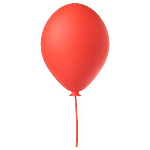 IKEA Kinder Wandleuchte Smila viele Motive - Blume, Herz, Stern, Mond (Luftballon rot)