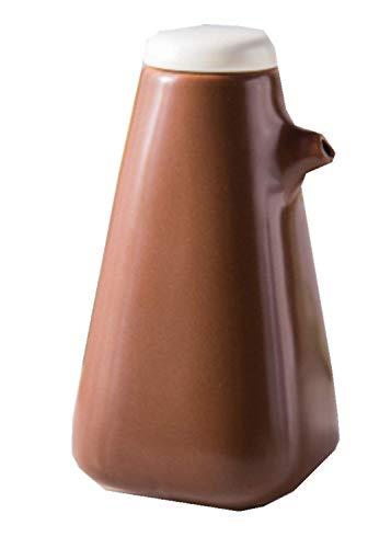siyao Ölflasche Lecythus Kreative Keramik Aroma Aufbewahrungstopf Sojasauce Aufbewahrungsflaschen Gewürzöl Essig Gläser Für Gewürzspender Werkzeug Braun Brown Gravy Boat