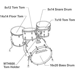 Tama CL50RS Coffee Fade – Batteria Acustica